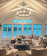 Unusual Ceiling Designs Ideas For Living Rooms25