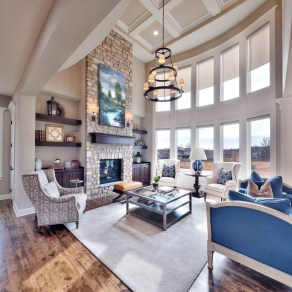 Unusual Ceiling Designs Ideas For Living Rooms27