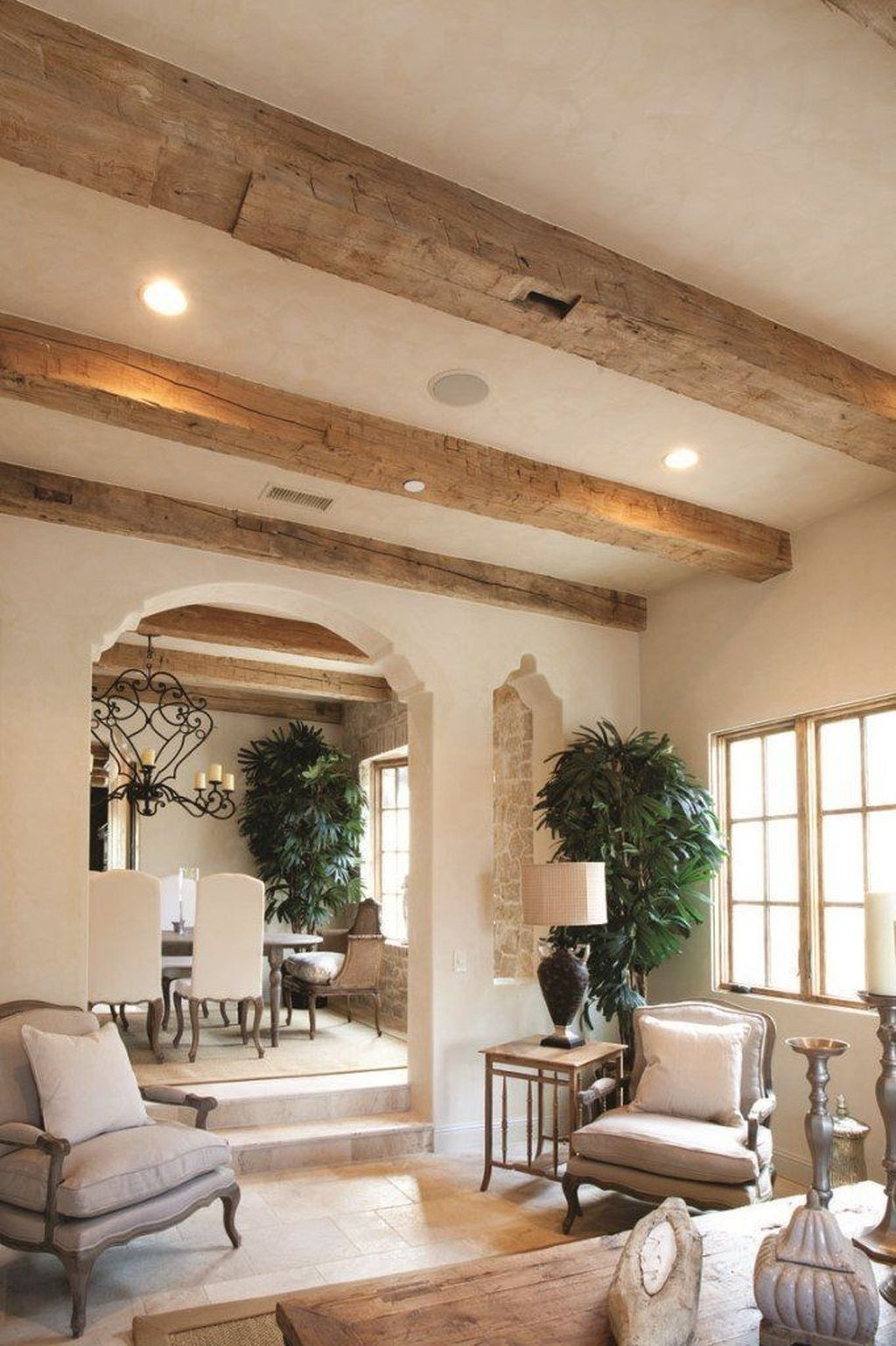 Unusual Ceiling Designs Ideas For Living Rooms50