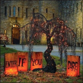 Amazing Outdoor Halloween Decorations Ideas For This Year27