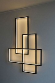 Attractive Lighting Wall Art Ideas For Your Home This Season15