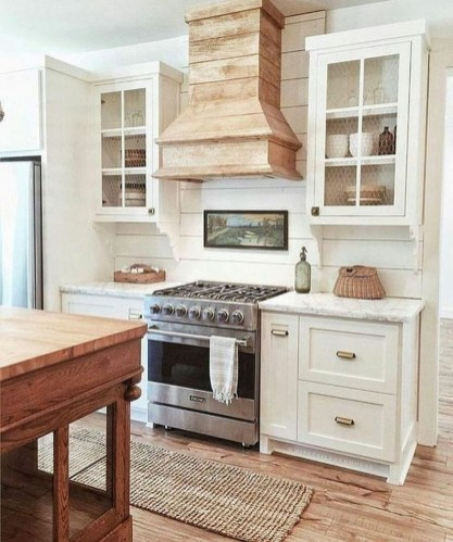 Beautiful Farmhouse Kitchen Décor And Remodel Ideas For You18
