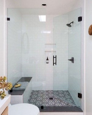 Best Master Bathroom Shower Remodel Ideas To Try26