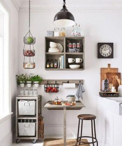 Charming Small Apartment Ideas For Space Saving08