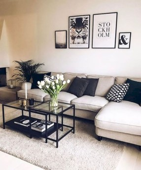 Comfy Living Room Decor Ideas To Make Anyone Feel Right At Home12
