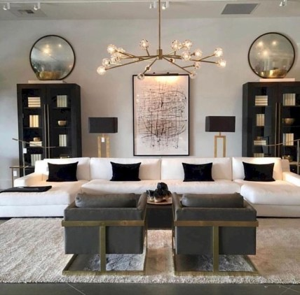 Comfy Living Room Decor Ideas To Make Anyone Feel Right At Home46