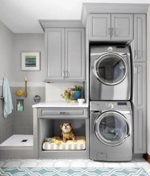 Cute Laundry Room Storage Shelves Ideas To Consider09