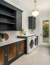 Cute Laundry Room Storage Shelves Ideas To Consider13