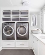 Cute Laundry Room Storage Shelves Ideas To Consider20