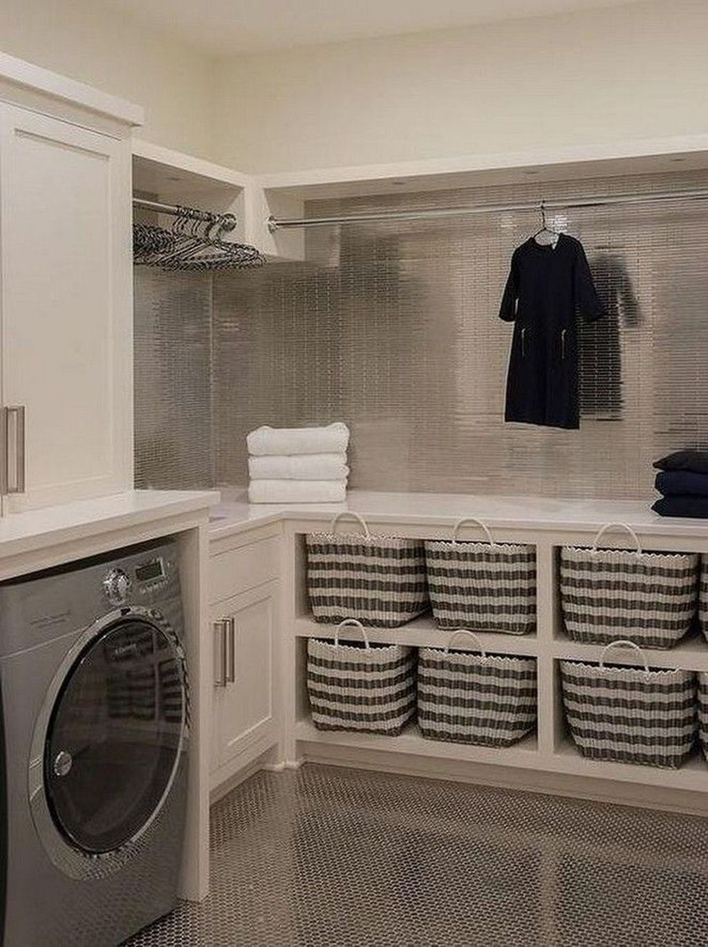 Cute Laundry Room Storage Shelves Ideas To Consider23
