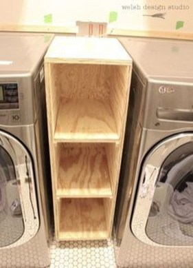 Cute Laundry Room Storage Shelves Ideas To Consider32