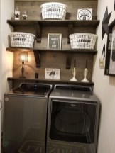 Cute Laundry Room Storage Shelves Ideas To Consider34