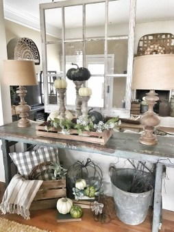 Excellent Fall Decorating Ideas For Home With Farmhouse Style09