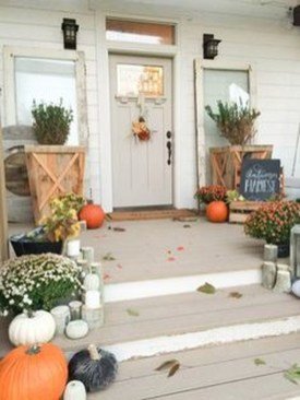 Excellent Fall Decorating Ideas For Home With Farmhouse Style24