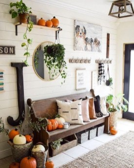 Excellent Fall Decorating Ideas For Home With Farmhouse Style44