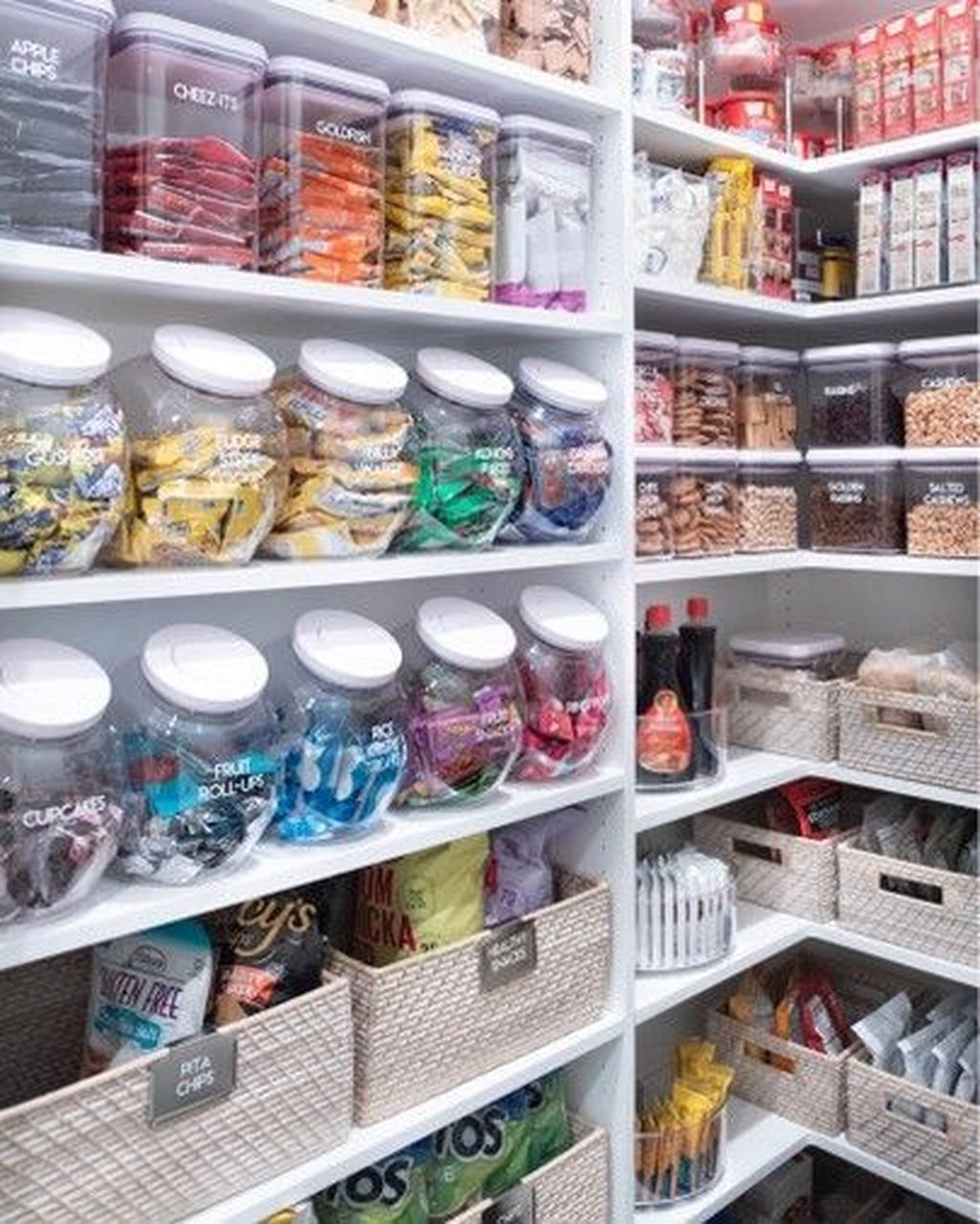 Glamour Kitchen Organization Decor Ideas To Try Right Now37