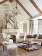 Gorgeous Country Farmhouse Decor Ideas For Living Room10