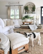 Gorgeous Country Farmhouse Decor Ideas For Living Room13