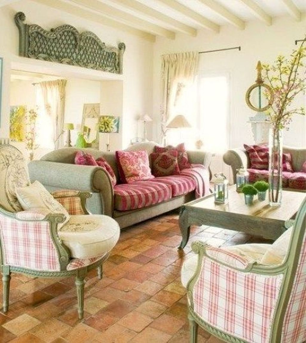 Gorgeous Country Farmhouse Decor Ideas For Living Room22