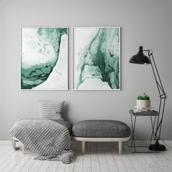 Impressive Minimalist Wall Art Decoration Ideas To Copy Right Now01