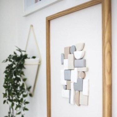 Impressive Minimalist Wall Art Decoration Ideas To Copy Right Now40