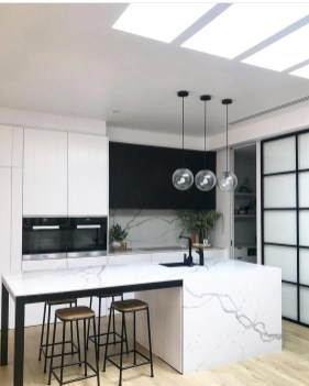 Incredible Black And White Kitchen Ideas To Try13