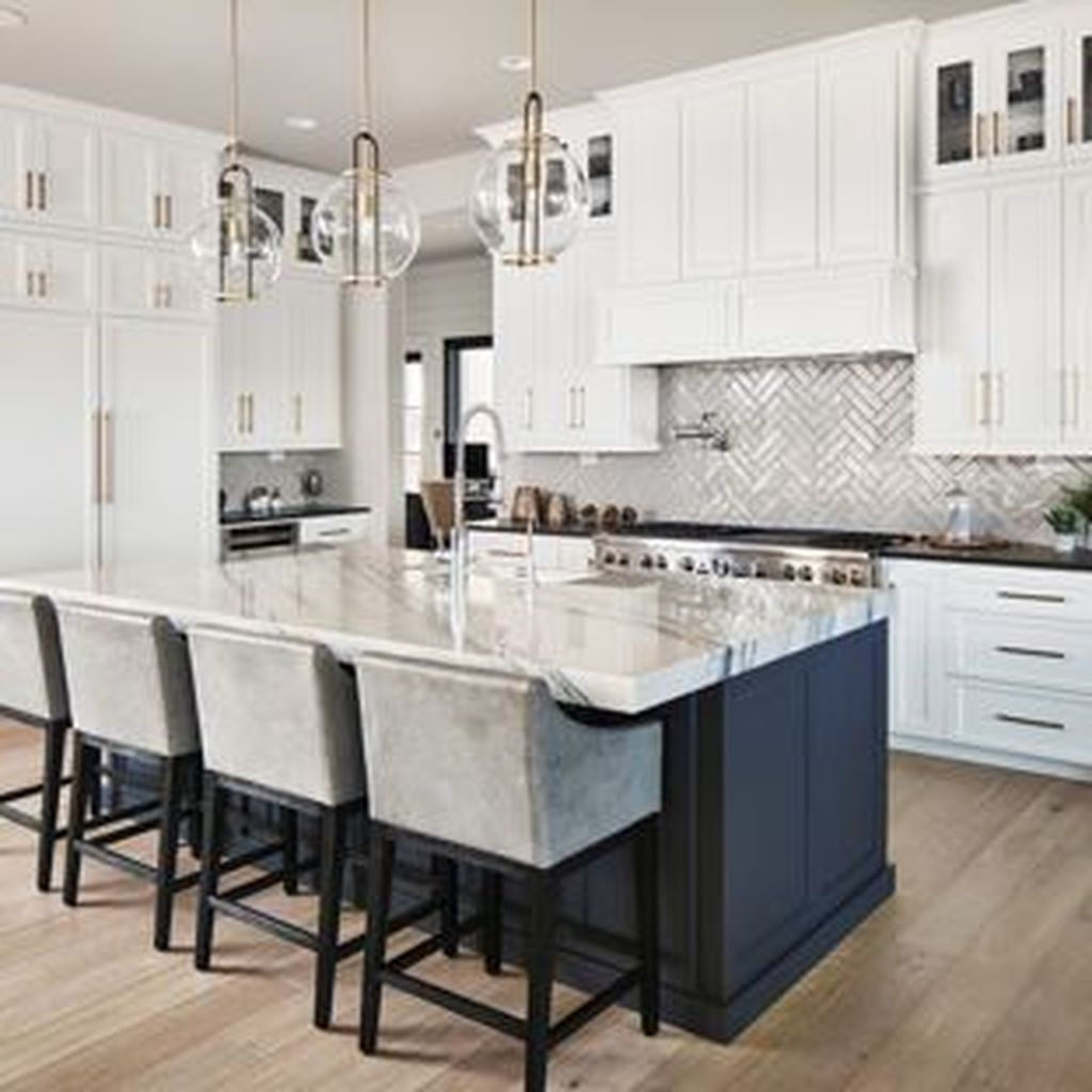Incredible Black And White Kitchen Ideas To Try24