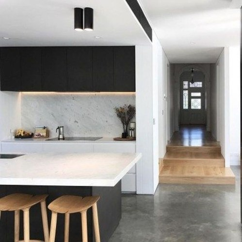 Incredible Black And White Kitchen Ideas To Try36