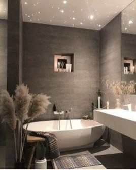Latest Bathroom Decor Ideas That Match With Your Home Design08