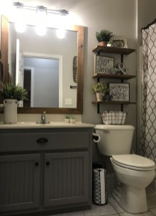 Latest Bathroom Decor Ideas That Match With Your Home Design19
