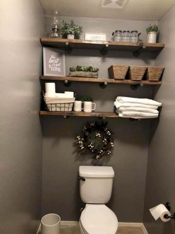 Latest Bathroom Decor Ideas That Match With Your Home Design40