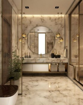 Luxury Bathroom Décor Ideas That Looks Great44