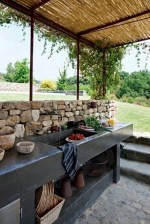 Newest Outdoor Kitchen Decoration Ideas To Make Cozy Kitchen03