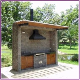 Newest Outdoor Kitchen Decoration Ideas To Make Cozy Kitchen12