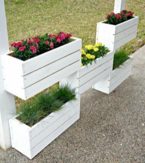 Pretty Privacy Fence Planter Boxes Ideas To Try18