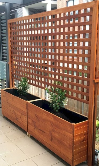 Pretty Privacy Fence Planter Boxes Ideas To Try38