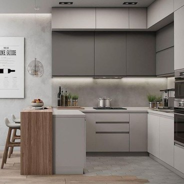 Unordinary Kitchen Colors Design Ideas That Looks Cool06
