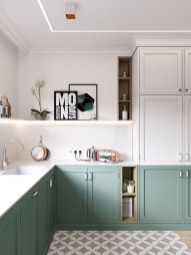 Unordinary Kitchen Colors Design Ideas That Looks Cool19