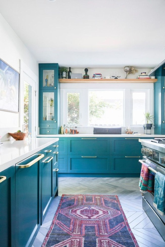 Unordinary Kitchen Colors Design Ideas That Looks Cool21