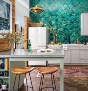 Unordinary Kitchen Colors Design Ideas That Looks Cool22
