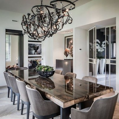Wonderful Contemporary Dining Room Decorating Ideas To Try09
