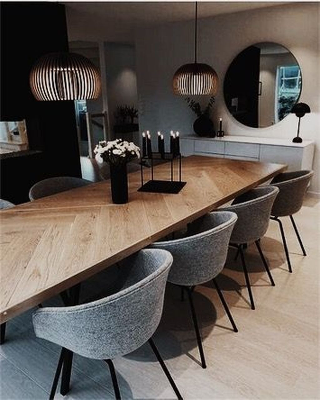Wonderful Contemporary Dining Room Decorating Ideas To Try20