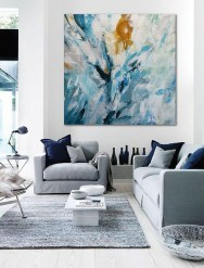 Wonderful Neutral Living Room Design Ideas To Try22