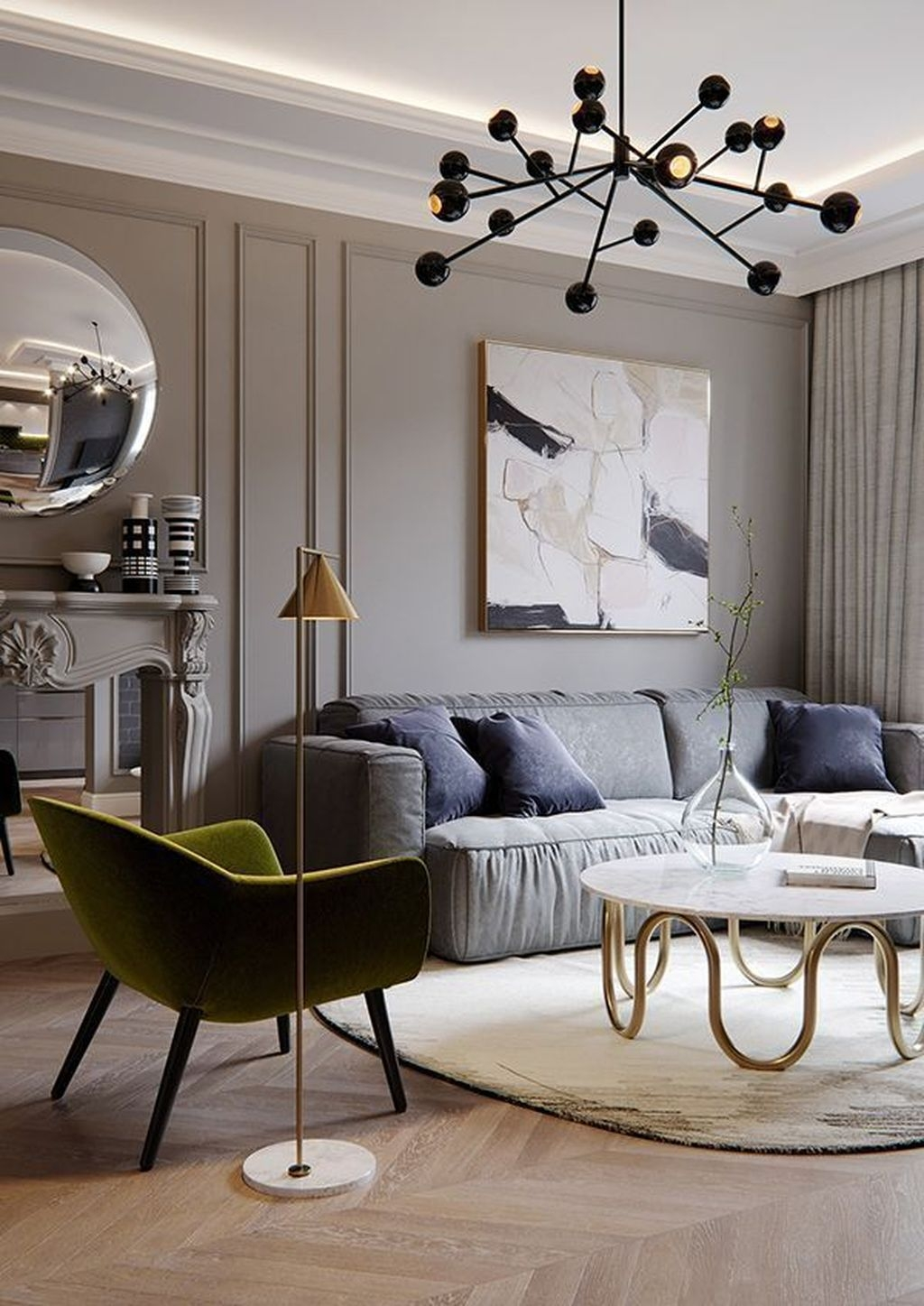 Wonderful Neutral Living Room Design Ideas To Try28