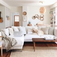 Wonderful Neutral Living Room Design Ideas To Try29