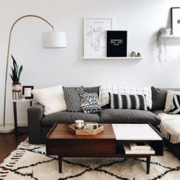 Wonderful Neutral Living Room Design Ideas To Try31