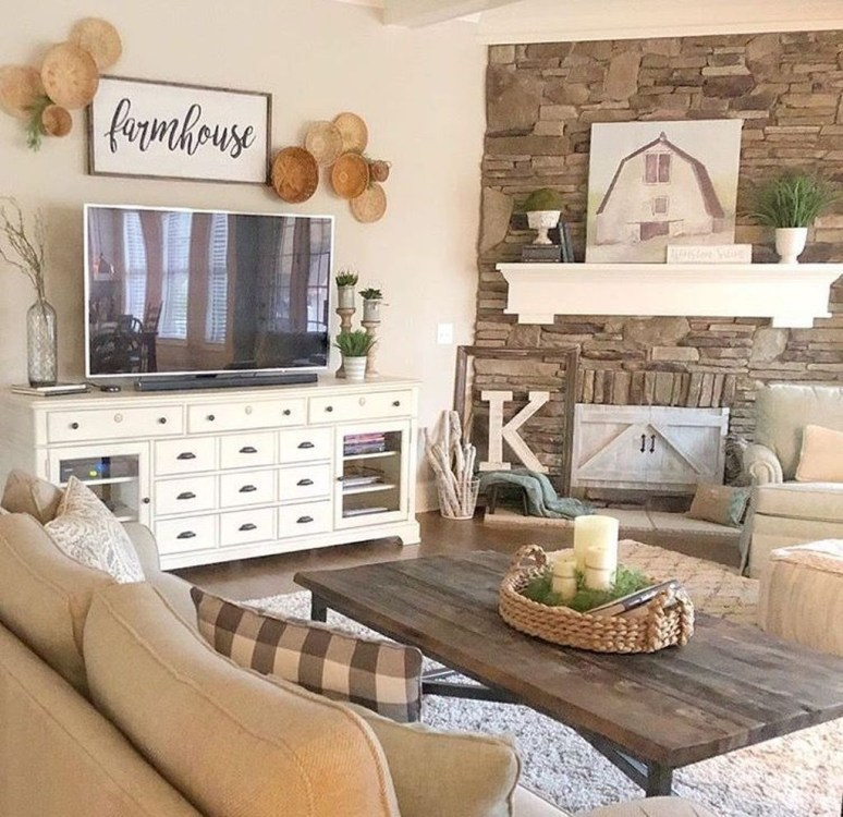 Attractive Living Room Wall Decor Ideas To Copy Asap42