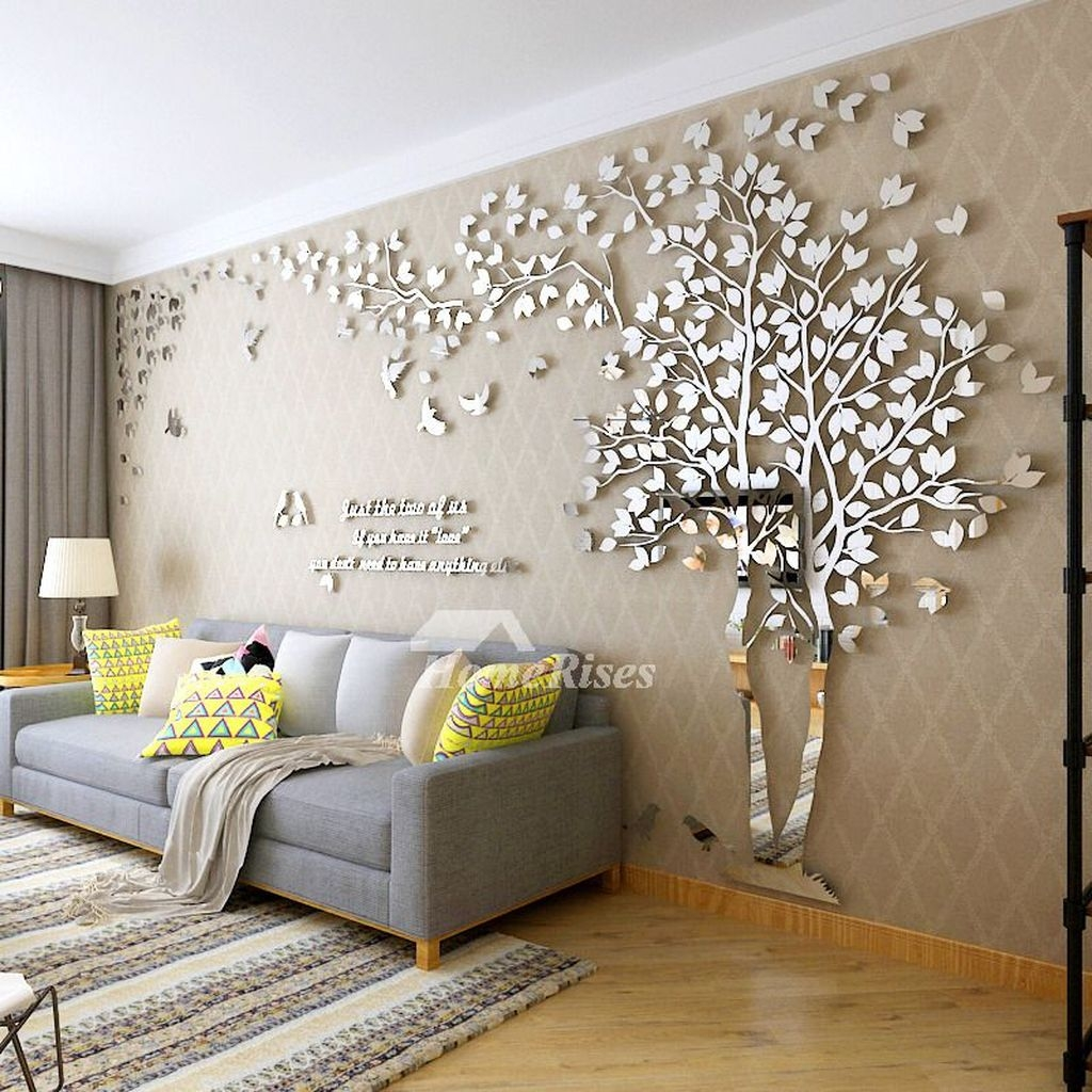20+ Attractive Living Room Wall Decor Ideas To Copy Asap ... on Room Wall Decor id=77253