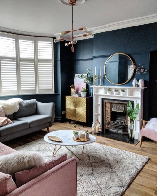 Awesome Living Room Mirrors Design Ideas That Will Admire You32