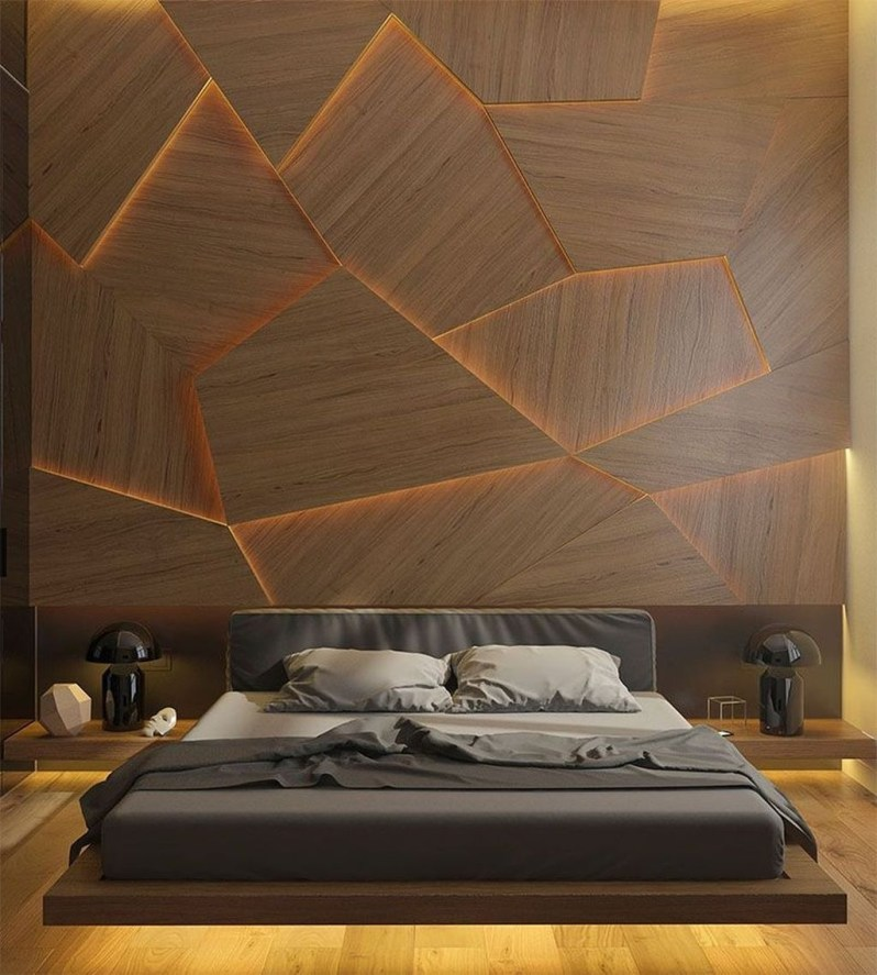 Casual Contemporary Floating Bed Design Ideas For You04